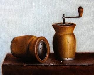 """""""Salt & Pepper"""" original fine art by Jonathan Aller"""