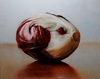 """Radicchio 2"" original fine art by Jonathan Aller"