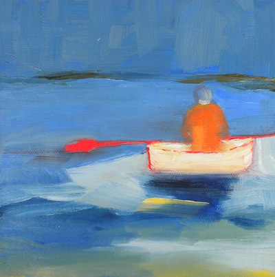 """Row"" original fine art by Janet Bludau"