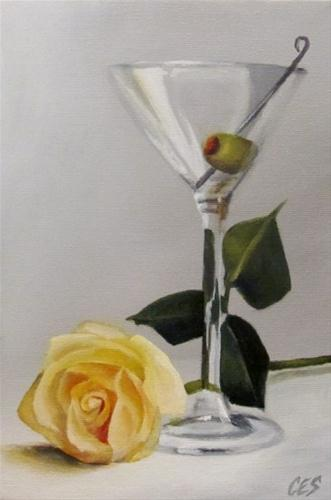 """Sophistication"" original fine art by ~ces~ Christine E. S. Code"