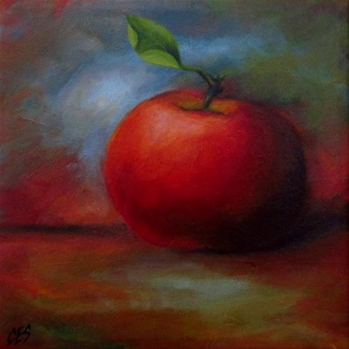 """An Apple For You"" original fine art by ~ces~ Christine E. S. Code"