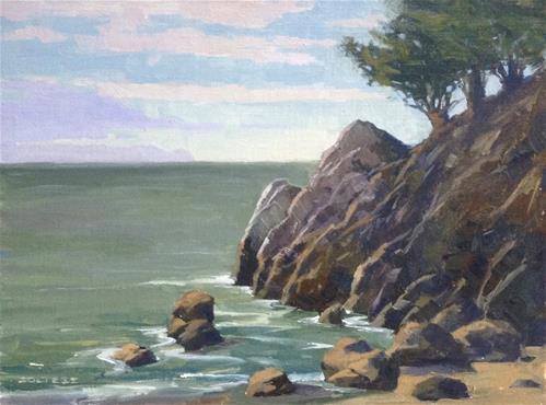 """Marin Coastal"" original fine art by J. Thomas soltesz"