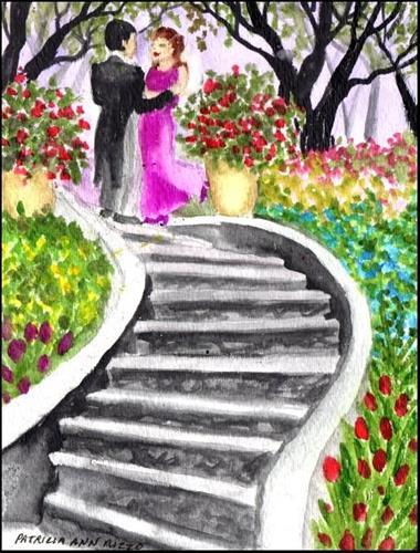 """""""Romance"""" original fine art by Patricia Ann Rizzo"""