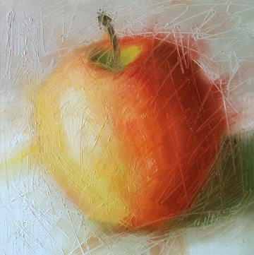 """About to be Peeled"" original fine art by Cindy Haase"