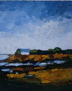 """""""Strand Hill, Sligo"""" original fine art by Marie O' Higgins"""