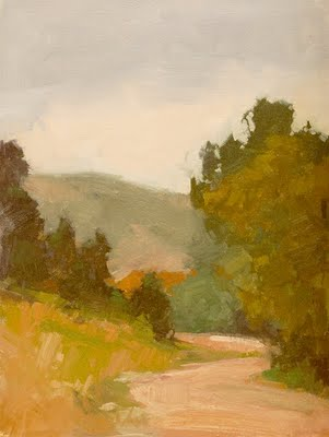 """Mountain Road Studies"" original fine art by Laurel Daniel"