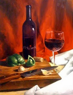 """Frick Winery"" original fine art by Michael Naples"