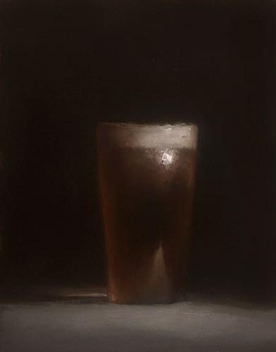 """""""Pint of Ale"""" original fine art by Neil Carroll"""