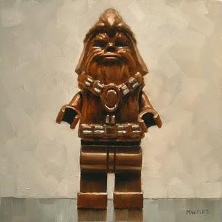 """Chewbacca"" original fine art by Michael Naples"