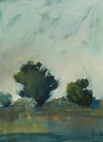 """All the Greenery"" original fine art by Pamela Munger"