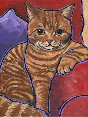 """Edwin"" original fine art by Nadi Spencer"