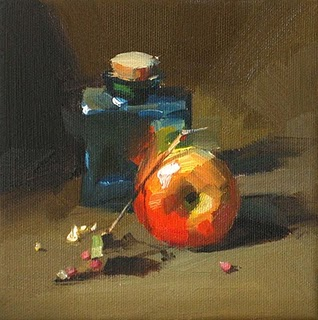 """Round and Square --- Sold"" original fine art by Qiang Huang"