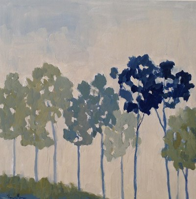 """Tall Trees"" original fine art by Pamela Munger"