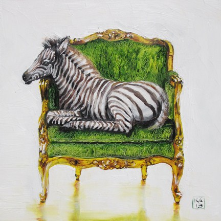 """""""zzz"""" original fine art by Kimberly Applegate"""
