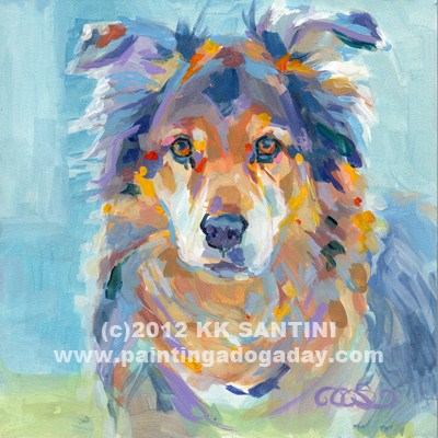 """Beare"" original fine art by Kimberly Santini"