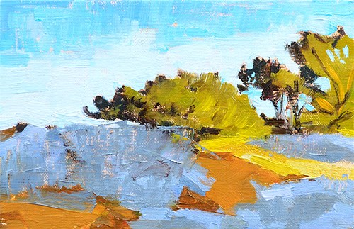 """Torrey Pines, Del Mar California"" original fine art by Kevin Inman"