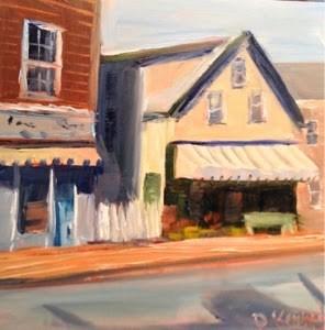 """Gloucester Morning"" original fine art by Debra Kennedy"