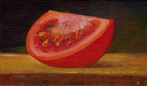 """tomato #2"" original fine art by Vova DeBak"
