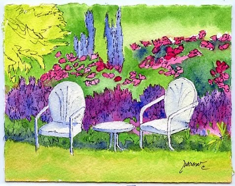 """Summer Spot"" original fine art by Sue Furrow"