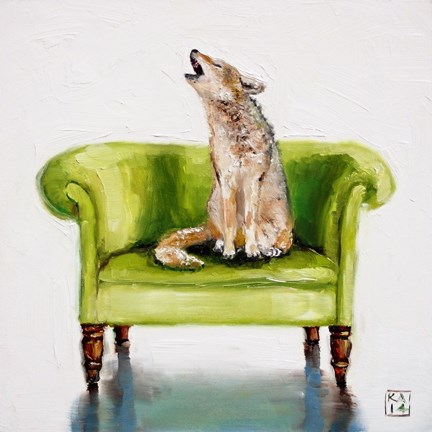 """yippie-yi-yo-ki-yay"" original fine art by Kimberly Applegate"