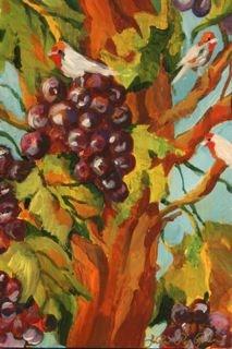 """Winos"" original fine art by JoAnne Perez Robinson"