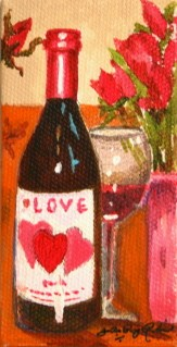 """Date Night"" original fine art by JoAnne Perez Robinson"
