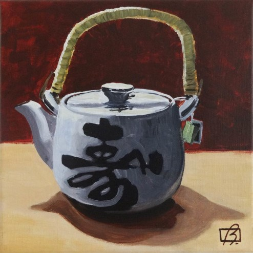 """Jasmine Tea"" original fine art by Andre Beaulieu"