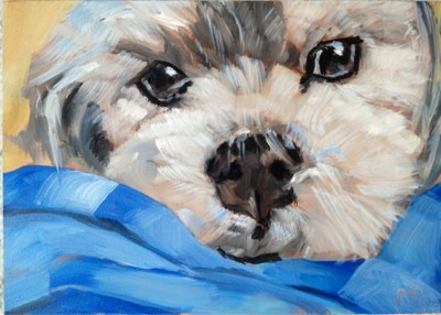 """Bella"" original fine art by Piya Samant"