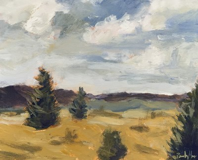 """September Afternoon"" original fine art by Pamela Munger"