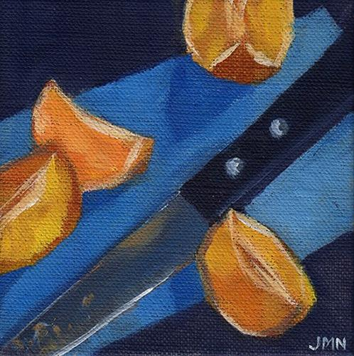 """Clementines: Quarters"" original fine art by J M Needham"