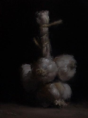 """""""Bunch of Garlic"""" original fine art by Neil Carroll"""
