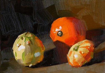"""Go-erds --- Sold"" original fine art by Qiang Huang"