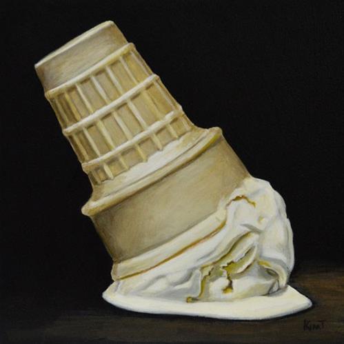 """Soft Fall"" original fine art by Kim Testone"