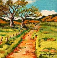 """My New Path"" original fine art by JoAnne Perez Robinson"