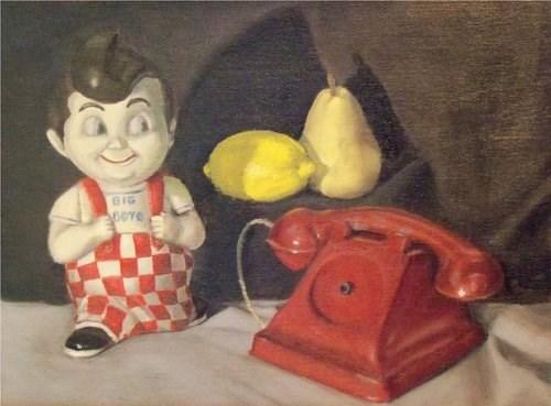 """Big Boy"" original fine art by Amy VanGaasbeck"