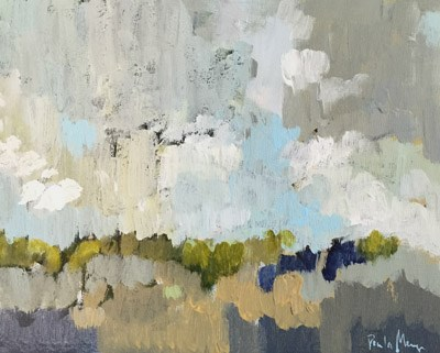 """Clouds over Mesa"" original fine art by Pamela Munger"