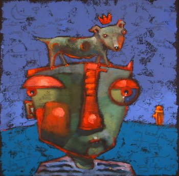 """Head Honcho"" original fine art by Brenda York"