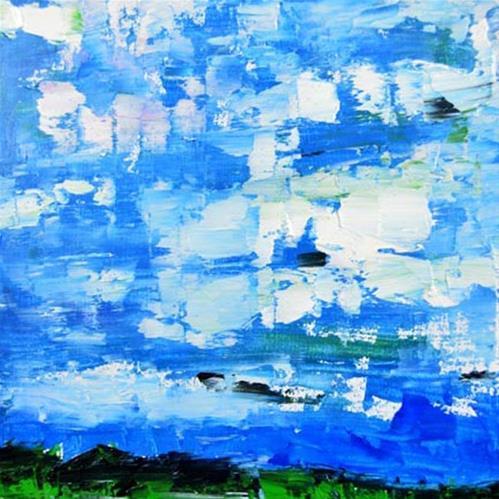 """""""Landscape 61"""" original fine art by Katie Jeanne Wood"""