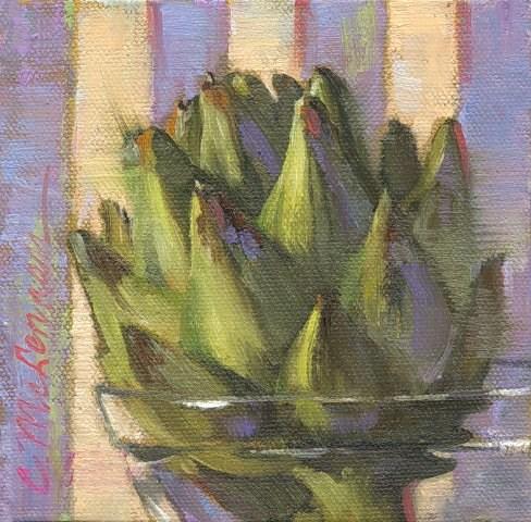 """Arty Choke"" original fine art by Connie McLennan"
