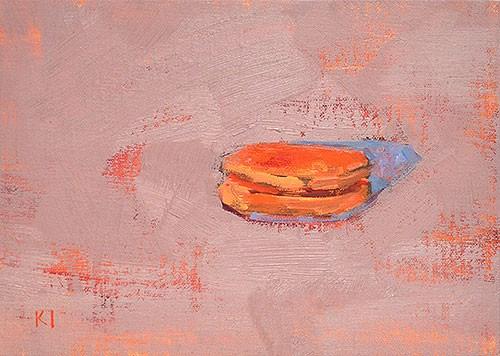 """Macaron Still Life"" original fine art by Kevin Inman"
