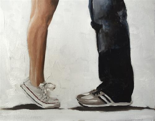 """Lovers' Legs"" original fine art by James Coates"