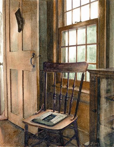 """Waiting"" original fine art by Kara K. Bigda"
