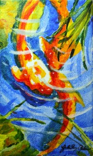 """Phish"" original fine art by JoAnne Perez Robinson"
