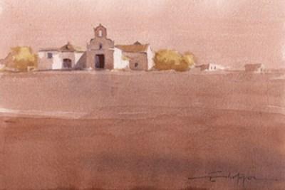"""Seville countryside 8"" original fine art by Emilio López"