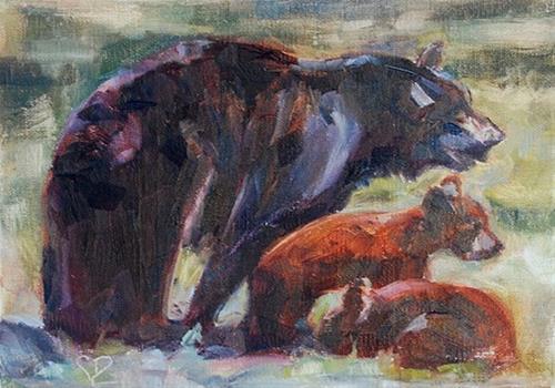"""Day 3 of 30, Keeping Watch"" original fine art by Carol DeMumbrum"