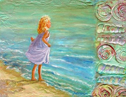 """Life is Easy.....On a Beach"" original fine art by Sue Furrow"