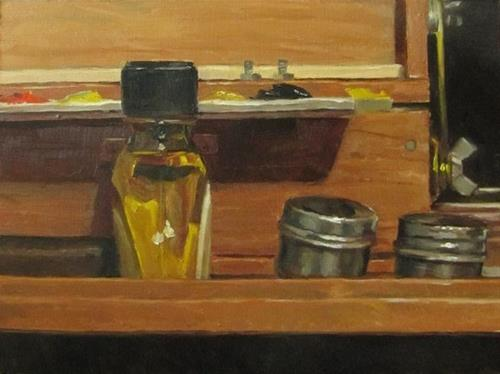 """29 - After the session"" original fine art by Ed Watson"