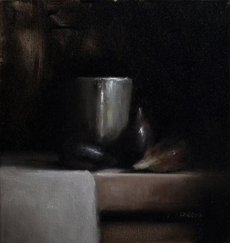 """""""Figs"""" original fine art by Neil Carroll"""