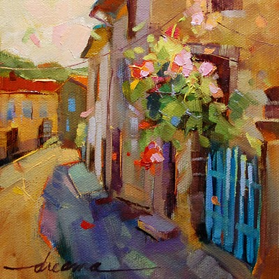 """A French Moment SOLD"" original fine art by Dreama Tolle Perry"