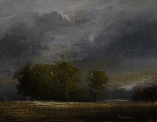 """Rain Approaches"" original fine art by Neil Carroll"